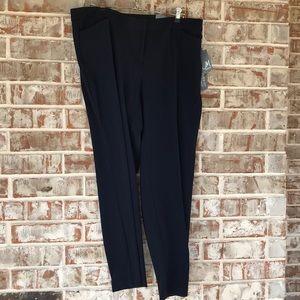 NWT Sz16 WP Navy Curvy Fit JM Collections Pants